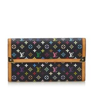 Louis Vuitton Monogram Multicolore Porte Tresor International