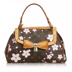 Louis Vuitton Monogram Murakami Cherry Blossom Sac Retro Bag