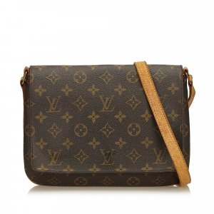 Louis Vuitton Monogram Musette Tango Long Strap