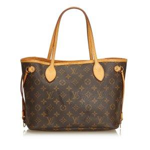 Louis Vuitton Borsa larga marrone