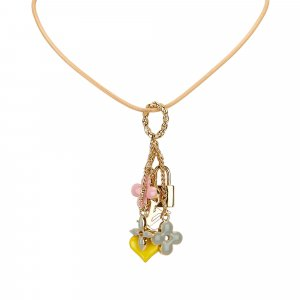 Louis Vuitton Necklace gold-colored metal