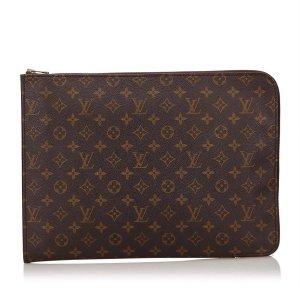 Louis Vuitton Monogram Poche Document Clutch