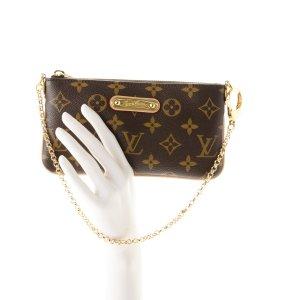 Louis Vuitton Sac de soirée beige-brun