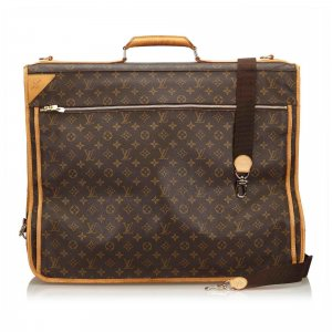 Louis Vuitton Weekendtas bruin