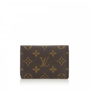 Louis Vuitton Monogram Porte 2 Cartes Vertical