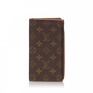 Louis Vuitton Monogram Porte-Cartes Credit Yen Wallet