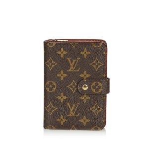 Louis Vuitton Monogram Porto Papier Zip
