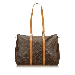 Louis Vuitton Bolso de viaje marrón oscuro