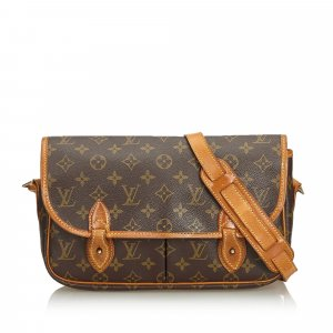 Louis Vuitton Monogram Sac Gibeciere MM