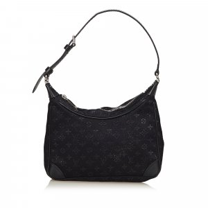 Louis Vuitton Monogram Satin Little Boulogne