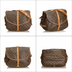 Louis Vuitton Bandolera marrón