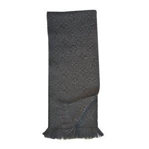 Louis Vuitton Sciarpa di lana antracite Lana