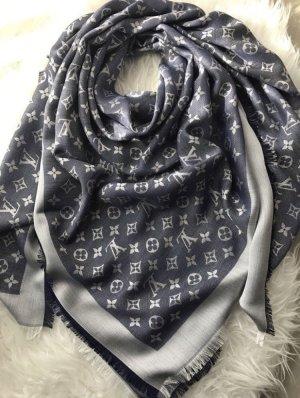 Louis Vuitton monogram Schal Tuch blau