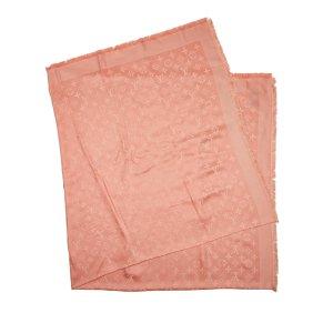 Louis Vuitton Monogram Silk Wool Shawl