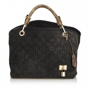 Louis Vuitton Monogram Suede Whisper PM