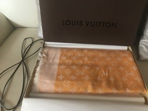 Louis Vuitton Foulard en soie multicolore