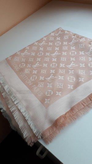 Louis Vuitton Silk Scarf pink silk
