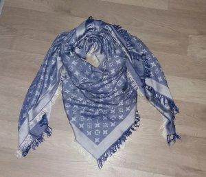 Louis Vuitton Kerchief light grey-steel blue