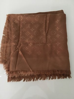 Louis Vuitton Mantilla color bronce Seda