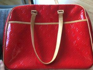 Louis Vuitton Accessoire rood Leer