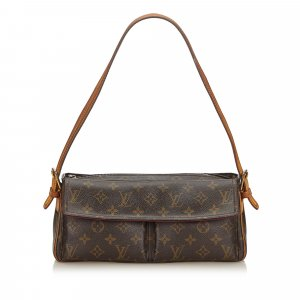 Louis Vuitton Bolsa de hombro marrón