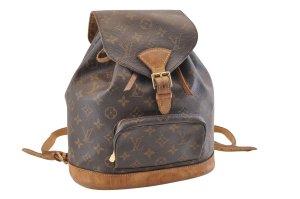Louis Vuitton Rugzak bruin Textielvezel