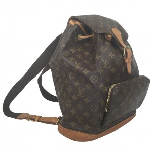 Louis Vuitton Montsouris GM Grande Rucksack Monogram Canvas Tasche Handtasche