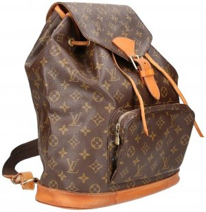 LOUIS VUITTON MONTSOURIS GM RUCKSACK AUS MONOGRAM CANVAS
