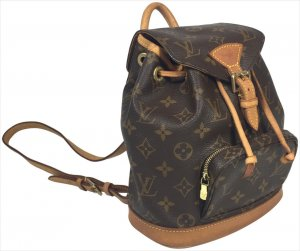 Louis Vuitton Montsouris Mini Monogram Canvas Rucksack Tasche Handtasche