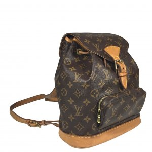 Louis Vuitton Montsouris MM Monogram Canvas Rucksack Tasche Handtasche