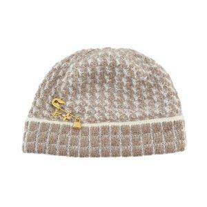 Louis Vuitton Mütze mit Brosche