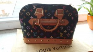 Louis Vuitton Sac à main noir cuir