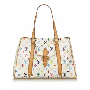 Louis Vuitton Bolsa de hombro blanco