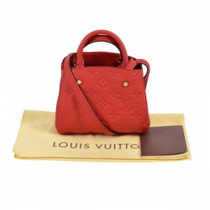 Louis Vuitton Nano Montaigne Empreinte Handtasche @mylovelyboutique.com