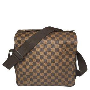 Louis Vuitton Naviglio Damier Ebene Canvas Tasche Handtasche Messenger