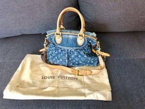 Louis Vuitton Bolso barrel azul aciano