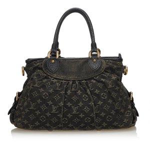 Louis Vuitton Cartella nero Cotone