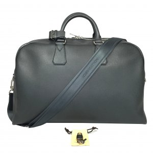 Louis Vuitton Weekender Bag anthracite leather