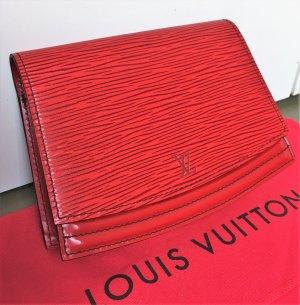 Louis Vuitton Riñonera rojo ladrillo-rojo oscuro Cuero