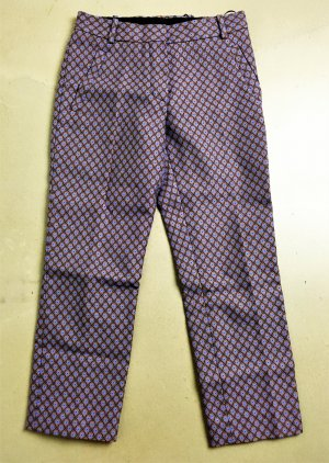Louis Vuitton Pantalon 7/8 multicolore coton