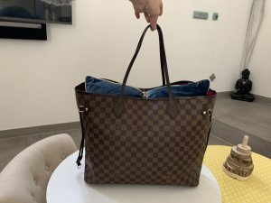 Louis Vuitton Borsetta marrone-marrone-nero