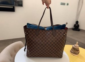 Louis Vuitton Never Full Gm Damier VB