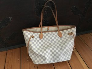 Louis Vuitton Neverfull Azur Top Shopper Schultertasche Luxus Weekender MM