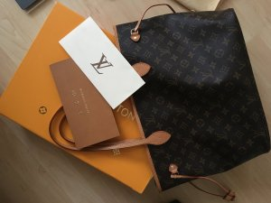 Louis Vuitton Neverfull canvas mm