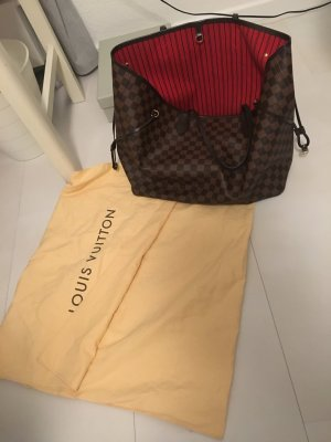 Louis Vuitton Shopper bronze-colored leather