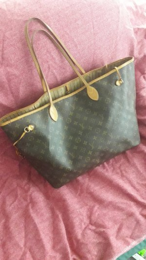 Louis Vuitton Borsa con manico bronzo-marrone