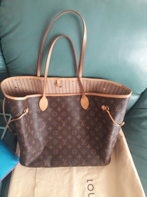 Louis Vuitton Carry Bag bronze-colored-light brown