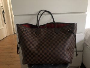Louis Vuitton Neverfull GM Damier Ebene Canvas Shopper