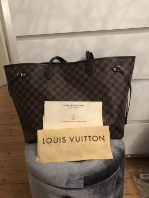 Louis Vuitton Neverfull GM Damier Ebene Shopper XL Weekender