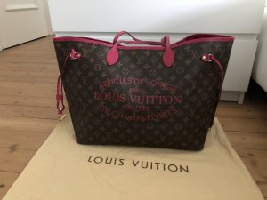Louis Vuitton Neverfull GM Ikat Edition Limitiert Shopper Pink Rosa